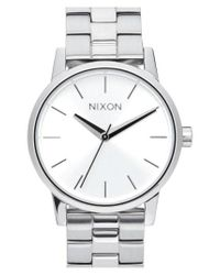 Nixon Metallic 'kensington' Bracelet Watch