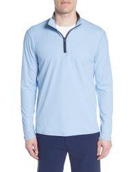 Greyson Blue Tate Quarter Zip Pullover for men