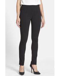 NIC+ZOE Black 'the Perfect Ponte' Pants