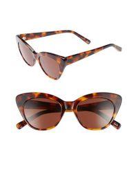 Elizabeth and James Brown Vale 52mm Cat Eye Sunglasses