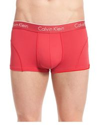 Calvin Klein | Black Air Fx Low Rise Trunks for Men | Lyst