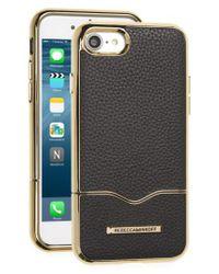 Rebecca Minkoff | Black Leather Iphone 7 Slider Case | Lyst