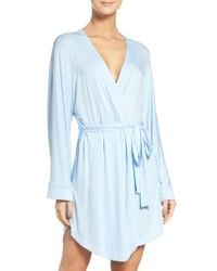 Honeydew Intimates - Blue Jersey Robe - Lyst