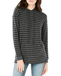 Michael Stars - Multicolor V-neck Hoodie - Lyst