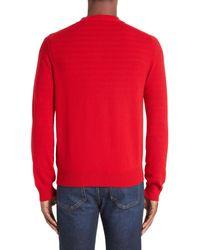 Comme des Garçons Red Comme Des Garçons Play Wool Cardigan for men