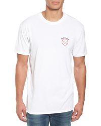 Billabong | White Rover Graphic T-shirt for Men | Lyst