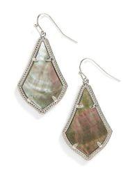 Kendra Scott | Metallic Alex Drop Earrings | Lyst