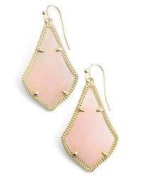 Kendra Scott | Pink 'alex' Drop Earrings | Lyst