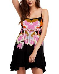 Free People Pink Sweet Lucy Slipdress