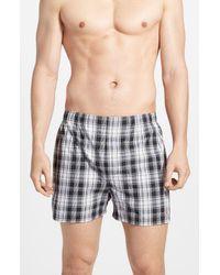 Polo Ralph Lauren 3-pack Woven Cotton Boxers, Black for men