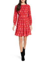 Kate Spade | Red Nesting Doll A-line Dress | Lyst