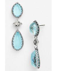 Konstantino | Blue 'aegean' Drop Earrings | Lyst