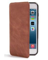 Sena - Multicolor Iphone 7 Plus Leather Wallet Case - Lyst