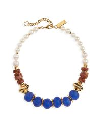 Lizzie Fortunato Bombay Blue Necklace