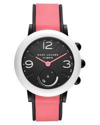 Marc Jacobs Black Riley Hybrid Smartwatch