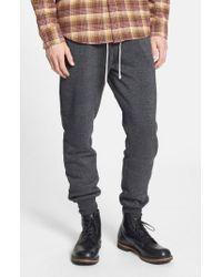 Alternative Apparel Gray 'dodgeball' Eco Fleece Sweatpants for men