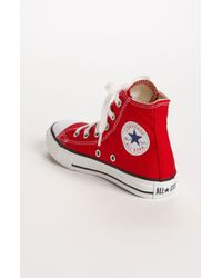 Converse White Chuck Taylor High Top Sneaker