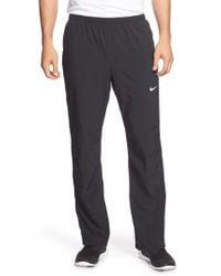 Nike | Gray Dri-fit Woven Pants for Men | Lyst
