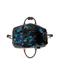 Ted Baker Black Large Albany Rolling Duffle Bag -