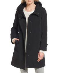 Gallery - Black A-line Raincoat - Lyst