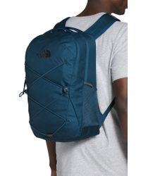 The North Face Blue Jester Water Repellent Backpack for men