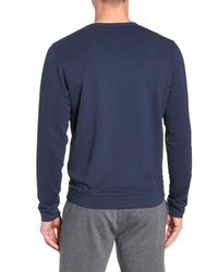 tasc Performance Blue Legacy Crewneck Semi Fitted Sweatshirt for men