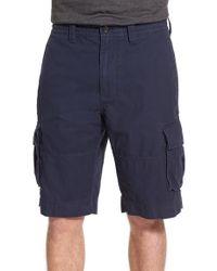 Nordstrom - Blue Herringbone Cargo Shorts for Men - Lyst