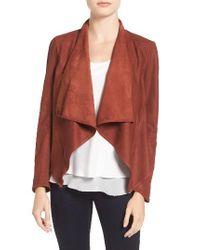 Lamarque | Multicolor Asymmetrical Suede Jacket | Lyst
