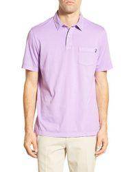 Vineyard Vines - Purple Cotton Jersey Polo for Men - Lyst