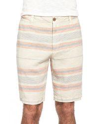Tailor Vintage | Multicolor Stripe Linen Walking Shorts for Men | Lyst