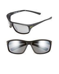 Nike   Black 'adrenaline' 64mm Sunglasses for Men   Lyst