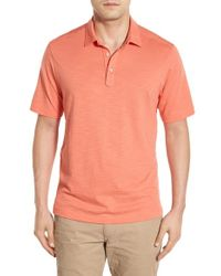 Tommy Bahama - Red 'portside Player Spectator' Regular Pima Cotton Polo for Men - Lyst