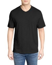 Tommy Bahama Gray 'portside Player' Pima Cotton T-shirt for men