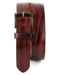 Tommy Bahama Red Leather Belt for men