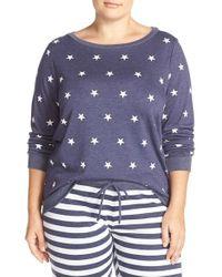 Make + Model - Purple 'americana' Crewneck Pullover - Lyst