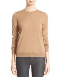 Burberry Brit | Natural Check Patch Merino Sweater | Lyst
