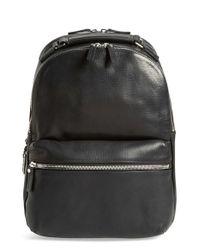 Shinola | Black Runwell Leather Laptop Backpack for Men | Lyst