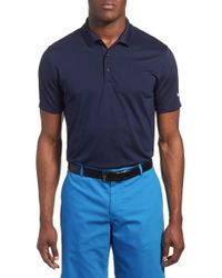 Nike | Blue 'victory Dri-fit Golf Polo for Men | Lyst