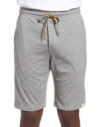 Paul Smith - Gray Jersey Cotton Lounge Shorts for Men - Lyst