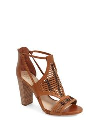 Vince Camuto - Brown 'ceara' Sandal - Lyst
