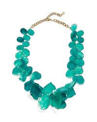 BaubleBar | Green 'seaglass' Bib Necklace | Lyst
