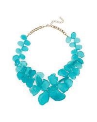 BaubleBar | Blue 'seaglass' Bib Necklace | Lyst