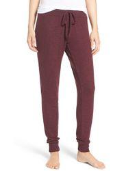 Make + Model | Purple Jogger Pants | Lyst