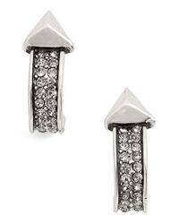 House of Harlow 1960 - Metallic 1960 'golden Hour' Hoop Earrings - Lyst