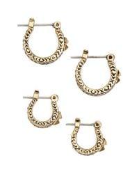 House of Harlow 1960 - Metallic 1960 'dakota' Earrings (set Of 2) - Lyst
