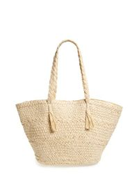Phase 3 | Natural Woven Straw Tote | Lyst