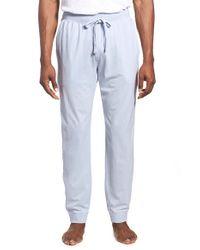 Daniel Buchler - White Pigment Dyed Cotton Lounge Pants for Men - Lyst