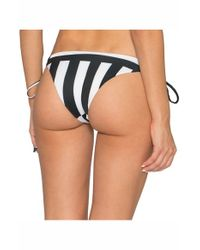 Tavik - White 'bebe' Lace-up Bikini Bottoms - Lyst