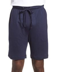 Daniel Buchler - Blue Modal & Linen Lounge Shorts for Men - Lyst