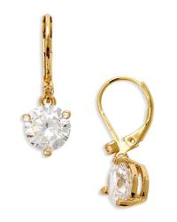 Kate Spade | Metallic 'rise And Shine' Lever Back Earrings | Lyst